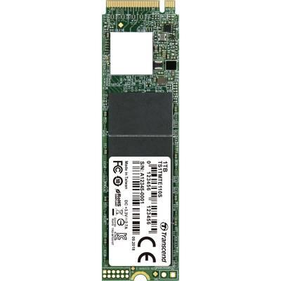 Image of Transcend 110S 1 TB NVMe/PCIe M.2 internal SSD M.2 NVMe PCIe 3.0 x4 Retail TS1TMTE110S
