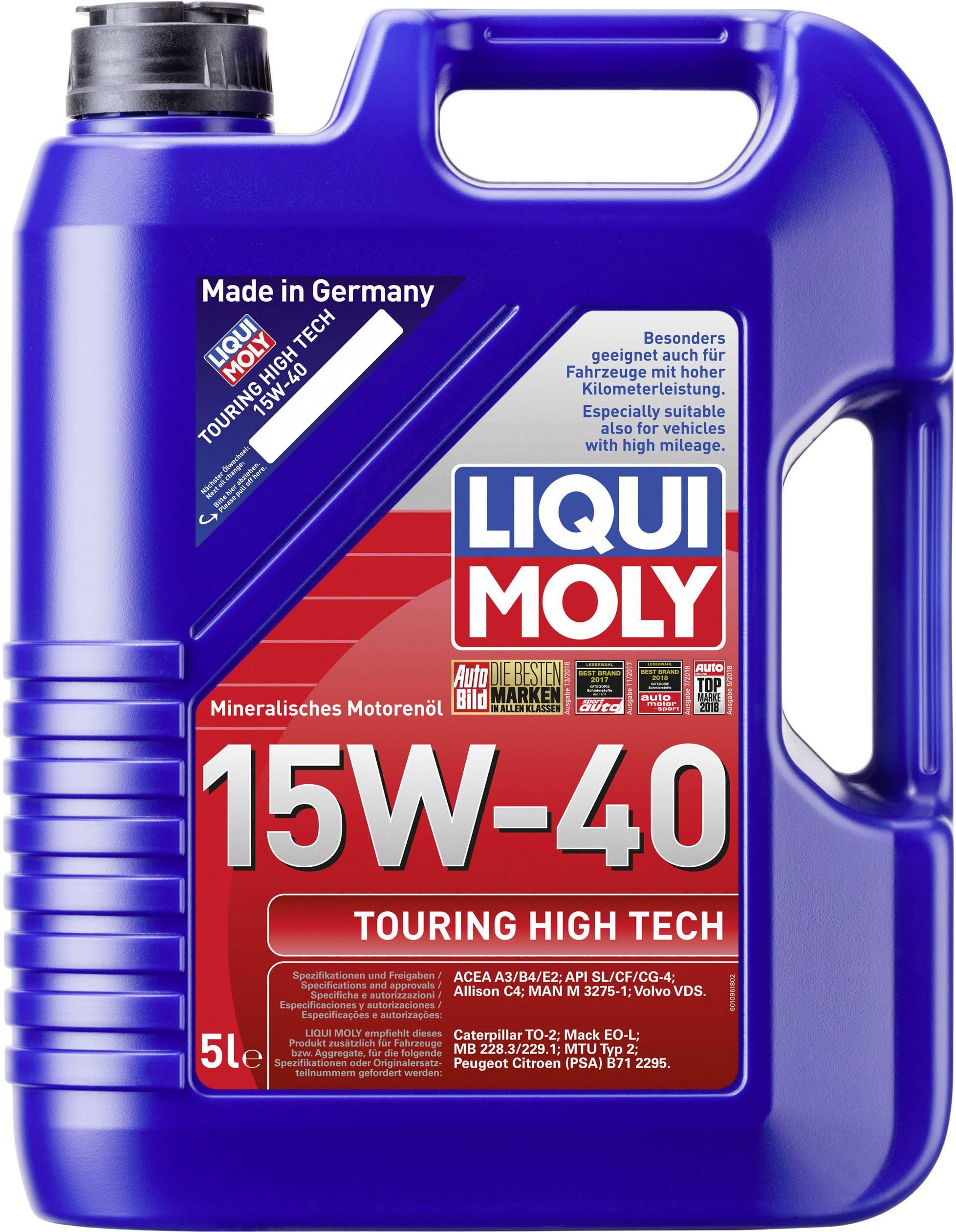 Liqui Moly Touring High Tech 15W-40 1096 Engine oil 5 l