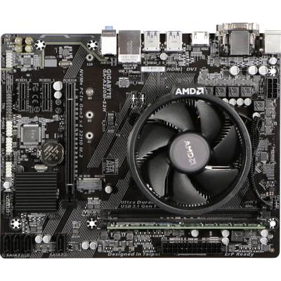 Gigabyte Pc tuning kit (office) AMD Athlon™ 200GE (2 x 3.2 GHz) 4 GB AMD Radeon Vega Graphics Vega 3 Micro-ATX
