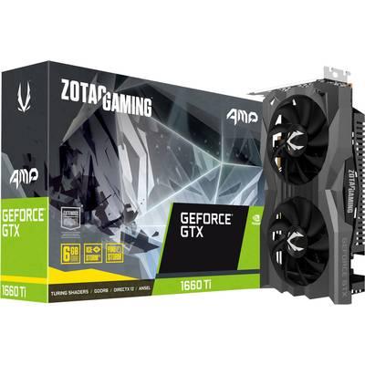 Zotac GPU Nvidia GeForce GTX1660 Ti AMP! Edition 6 GB GDDR6 RAM PCIe x16 HDMI™, DisplayPort