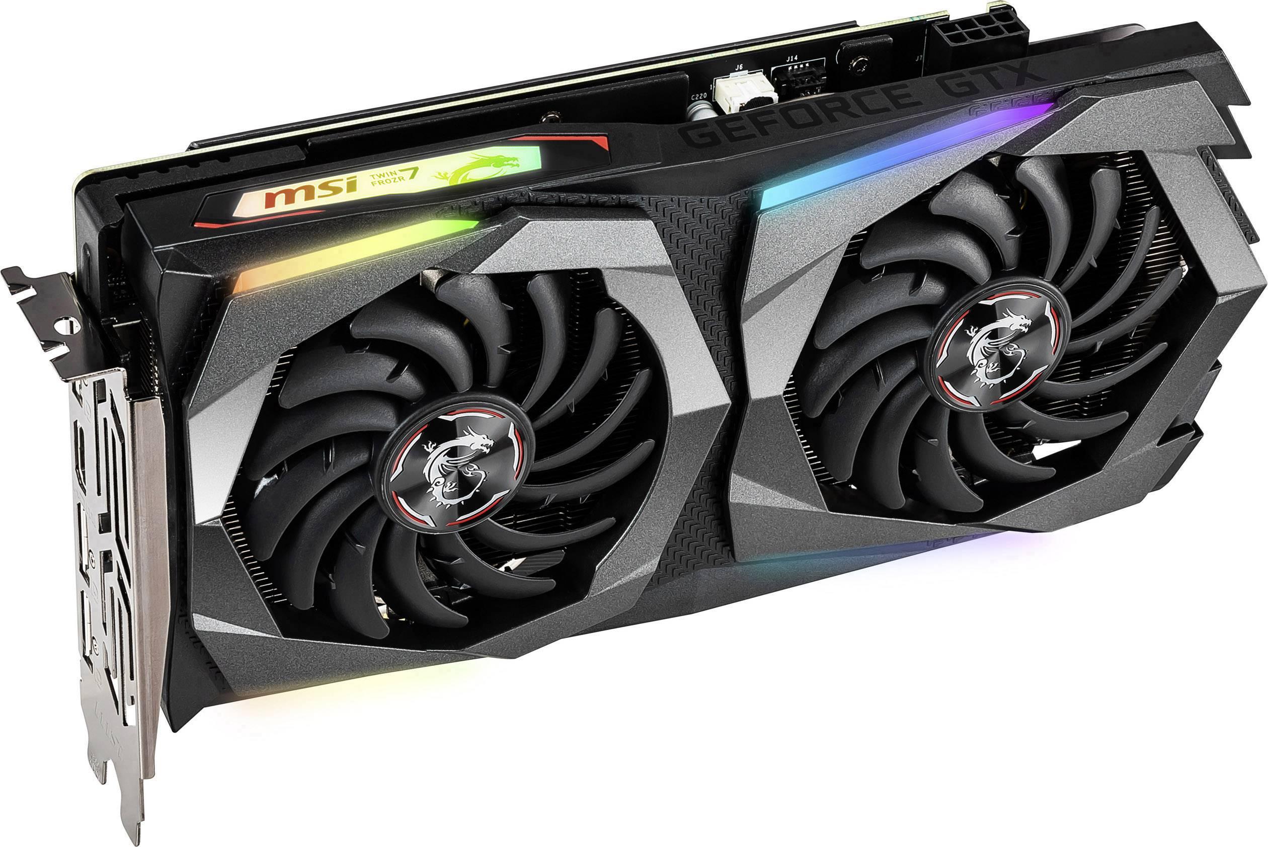 MSI Gaming GPU Nvidia GeForce GTX1660 Ti Gaming X 6 GB GDDR6 RAM PCIe x16  HDMI™, DisplayPort