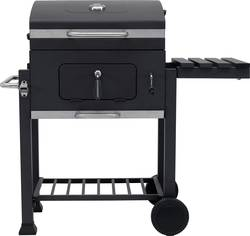 Tepro Garten Toronto Bbq Trolley Charcoal Grill Thermometer In Lid