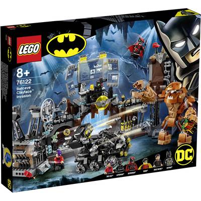 76122 LEGO® DC COMICS SUPER HEROES Clayface™ Invasion into the Batcave