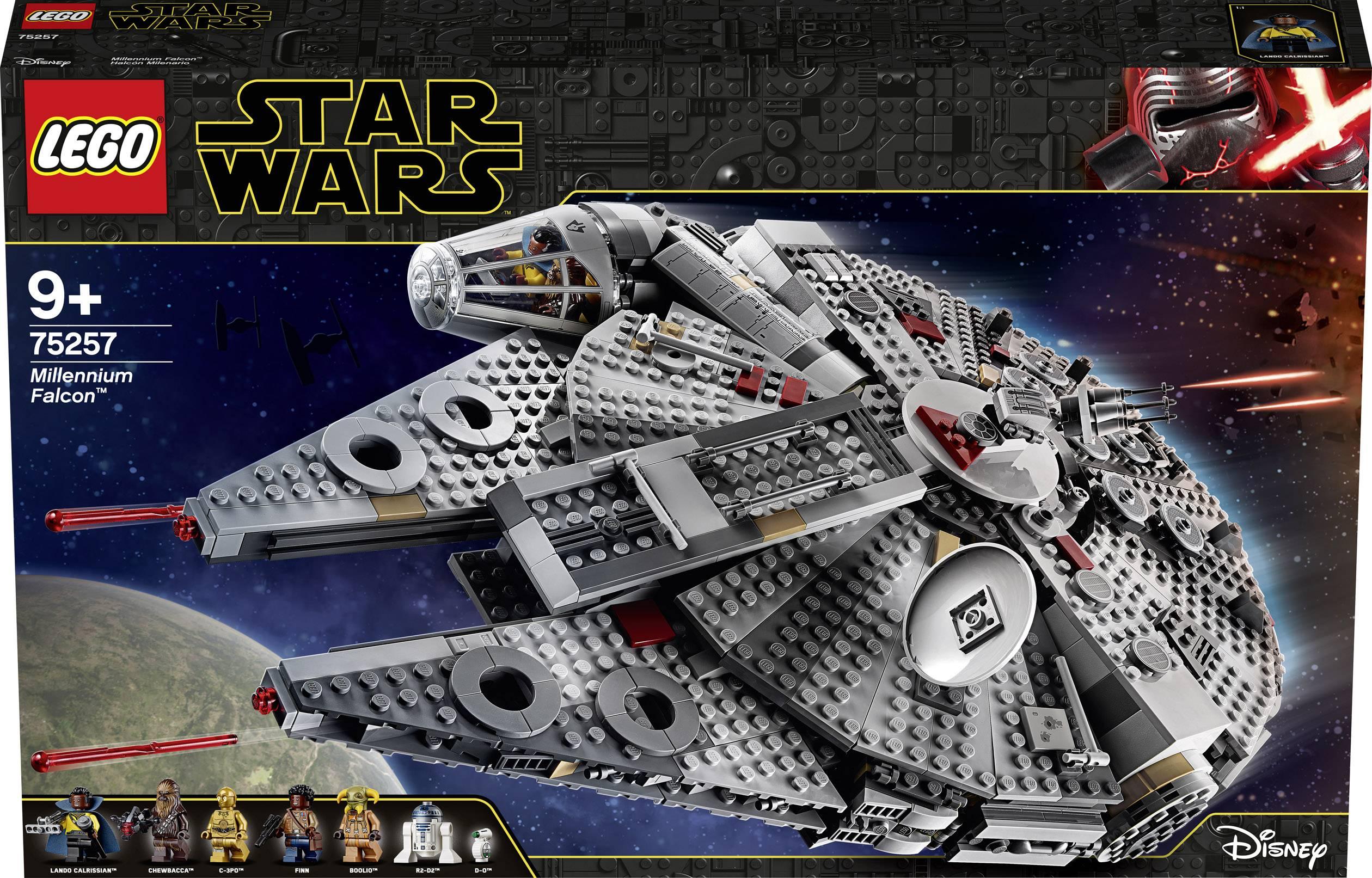 75257 Lego Star Wars Millennium Falcon Conrad Com