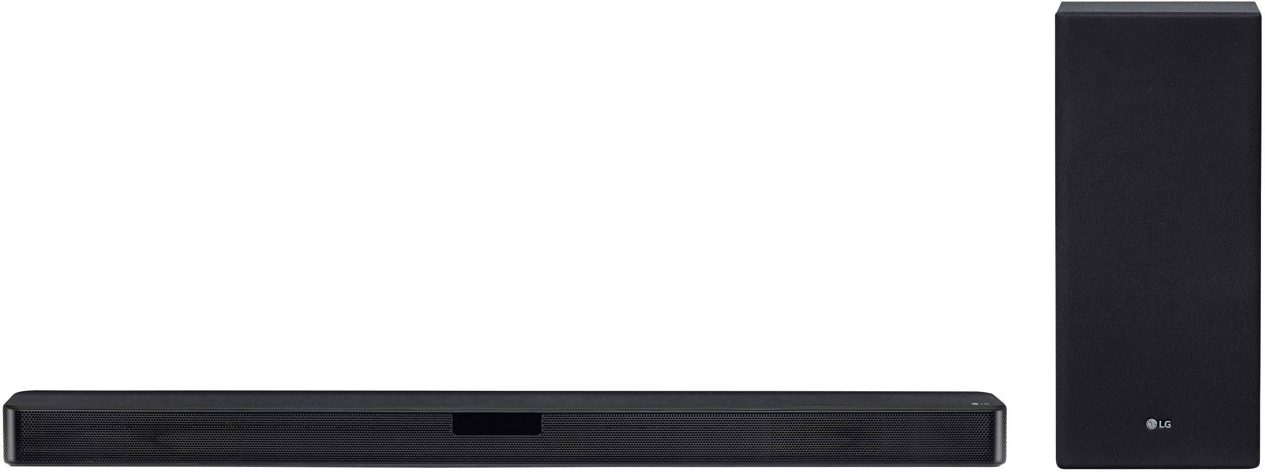 LG Electronics SL5 Soundbar Black Bluetooth, High-res audio