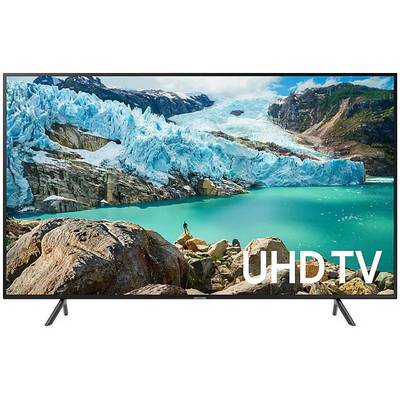 Image of Samsung UE43RU7179 LED TV 108 cm 43 EEC A (A++ - E) DVB-T2, DVB-C, DVB-S, UHD, Smart TV, WLAN, CI+ Black