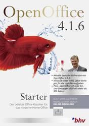BHV Verlag OpenOffice 4 1 6 Starter Full version, 1 license