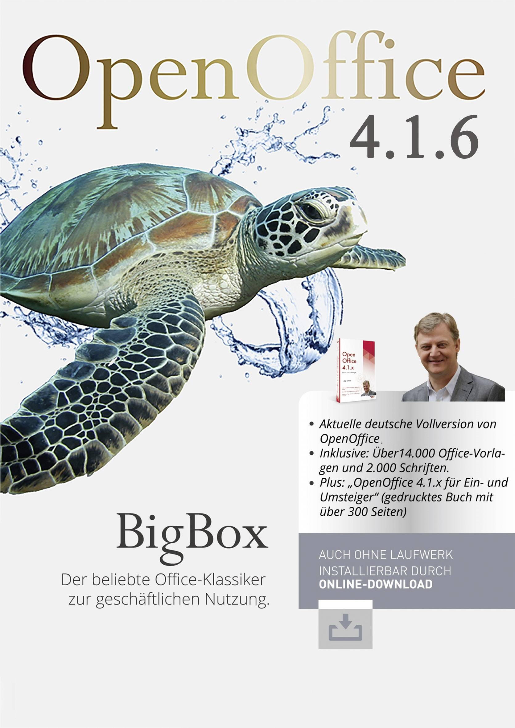 Bhv Verlag Openoffice 4 1 6 Bigbox Full Version 1 License