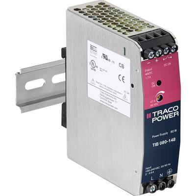 TracoPower TIB 080-112 Rail mounted PSU (DIN) +12.0 V DC 6700 mA 80 W 1 x
