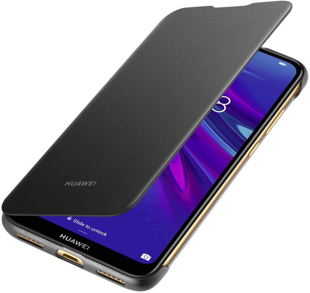 HUAWEI Filip Cover Flip cover Huawei Y6 (2019) Black   Conrad.com
