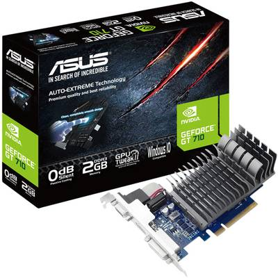 Compare retail prices of Asus Nvidia GeForce GT 710 GT710-SL-1GD5 1 GB GDDR5 PCI Express Graphics Card to get the best deal online