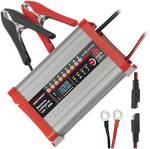 Fully automatic battery charger with camping function
