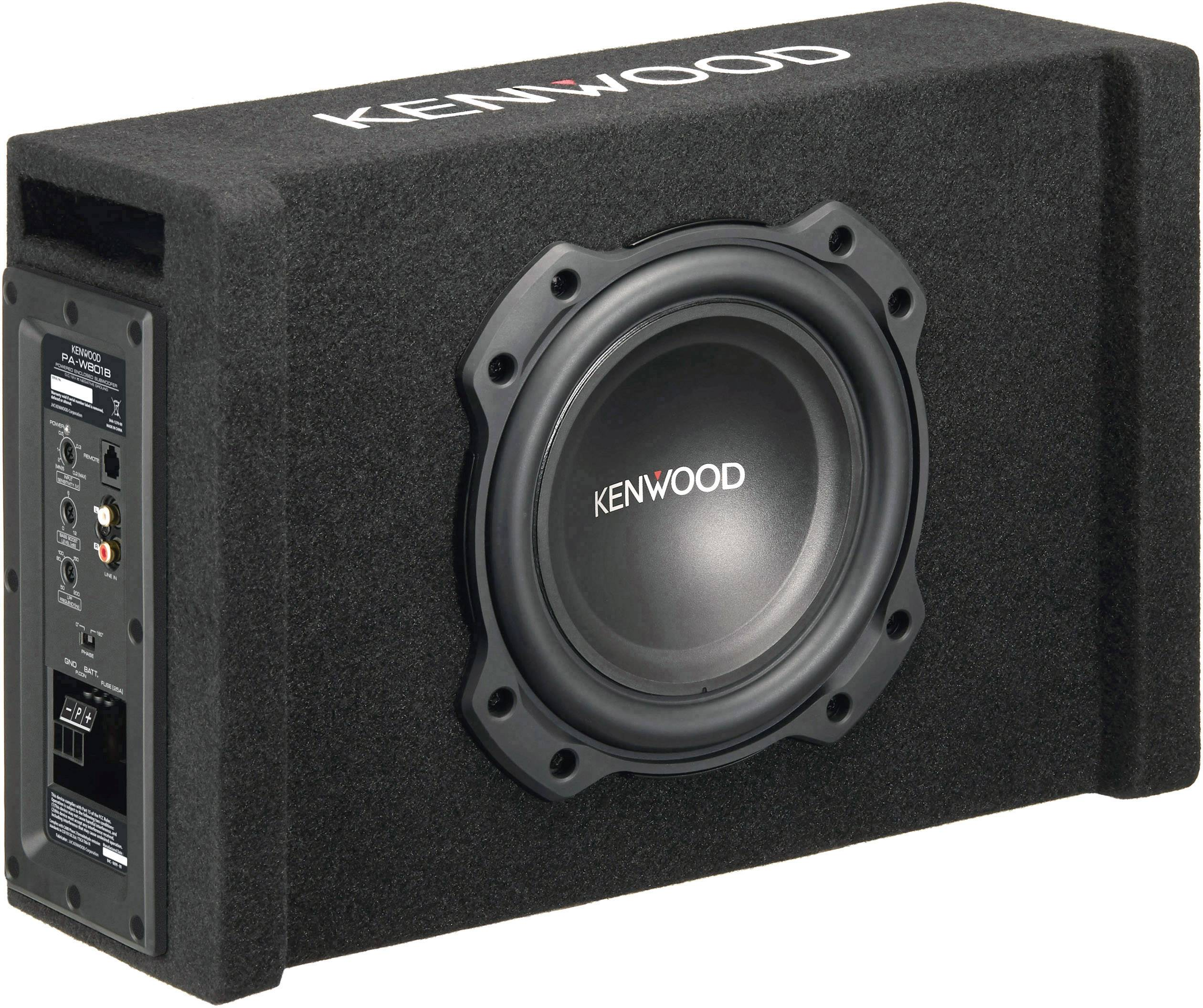 Kenwood PA-W801B Car subwoofer active 400 W | Conrad com