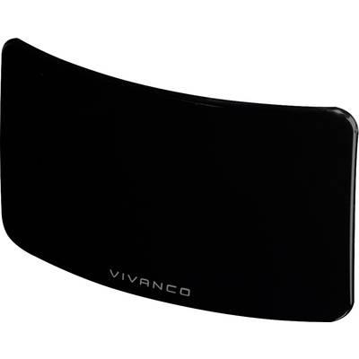 Image of Vivanco TVA 4040 DVB-T/T2 active planar antenna Indoors Black