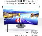 Club 3D Mini DisplayPort 1.2 HBR2 - cable - digital/display/video