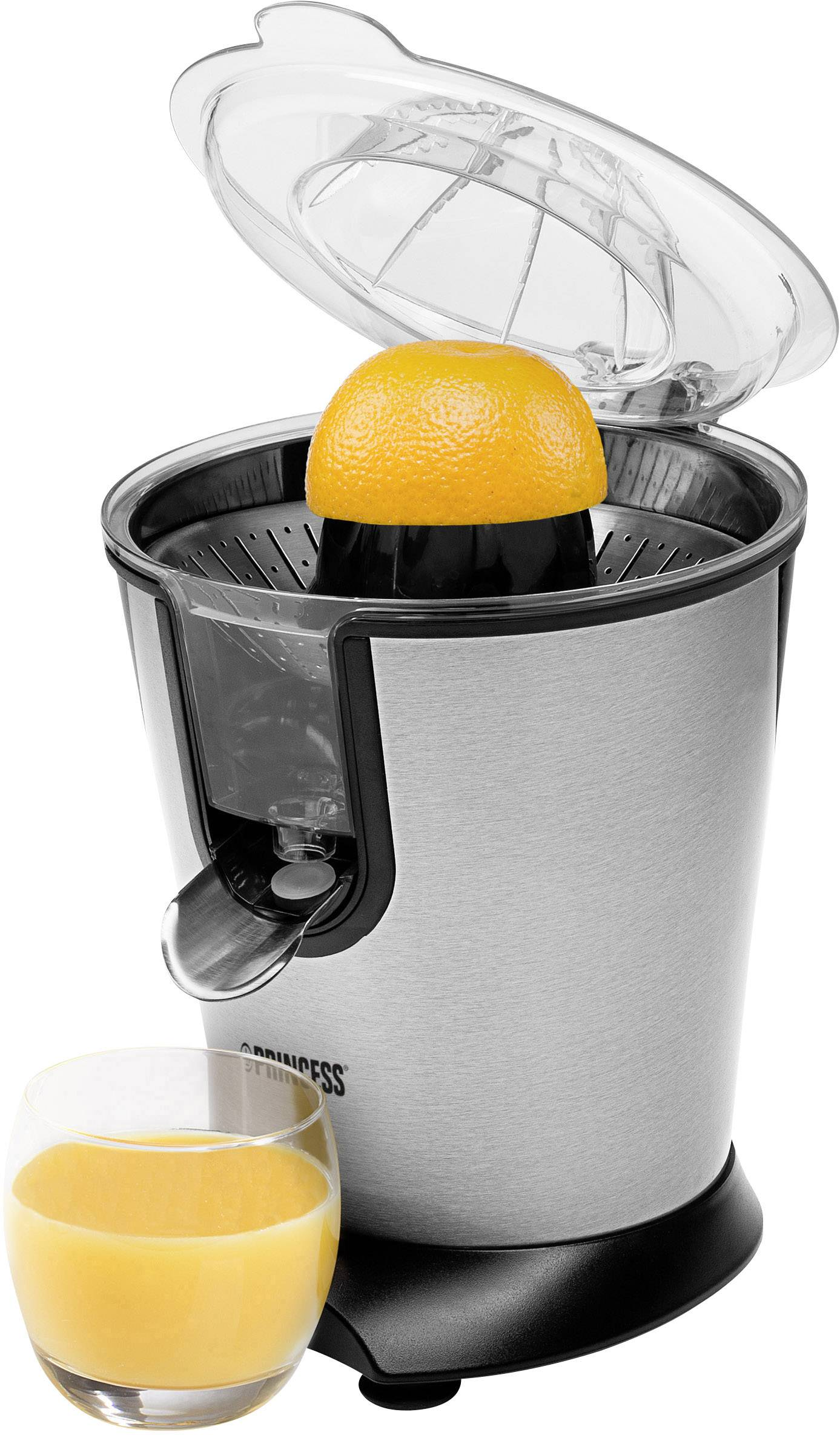 Stainless steel For all kinds of Citrus fruit 160 W Juicer Silver