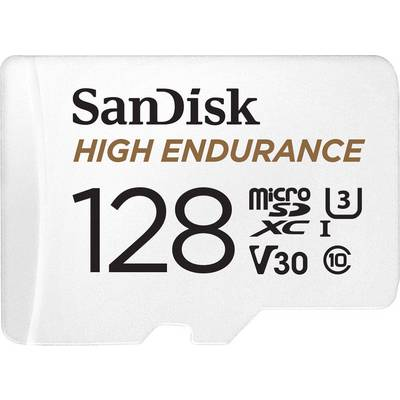 Image of MSDXC ENDURANCE 128GB C10 100MBS+AD