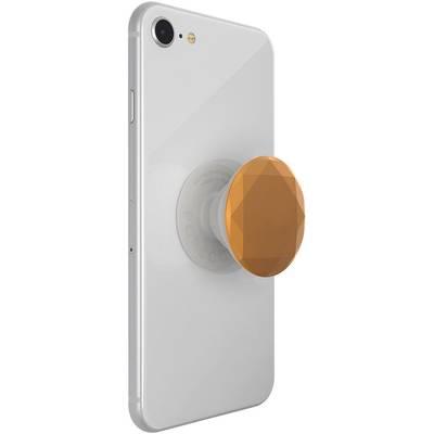 Image of POPSOCKETS Metallic Diamond Medallion Gold Mobile phone stand Bronze, Metallic N/A