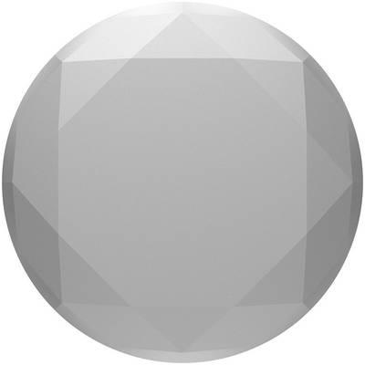 Image of POPSOCKETS Metallic Diamond Silver Mobile phone stand Silver, Metallic