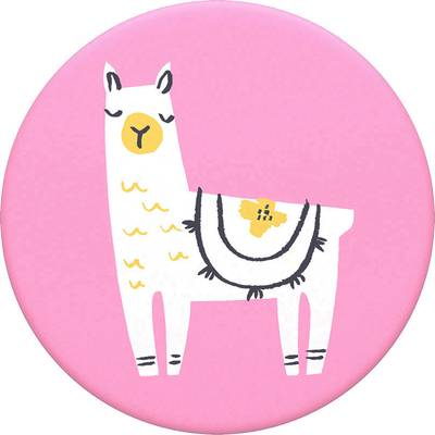 Image of POPSOCKETS Llama Glama Mobile phone stand Pink