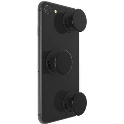 Image of POPSOCKETS Triple Black Mobile phone stand Black