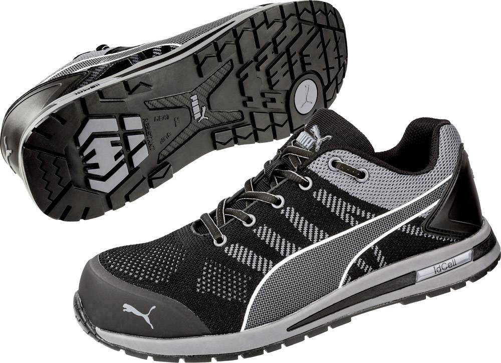 PUMA Safety Elevate Knit Black Low 643160-39 ESD protective footwear S1P Size: 39 Black, Grey 1 Pair