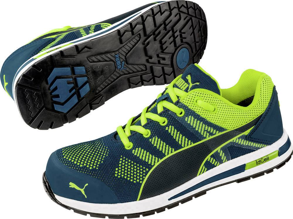 PUMA Safety Elevate Knit Green Low 643170-39 Protective footwear S1P Size: 39 Green, Yellow 1 Pair