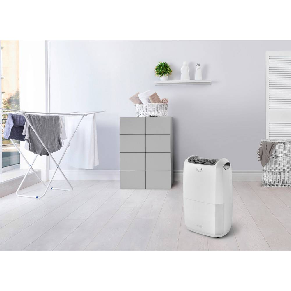 DeLonghi DDSX220 Dehumidifier 0.83 l/h White