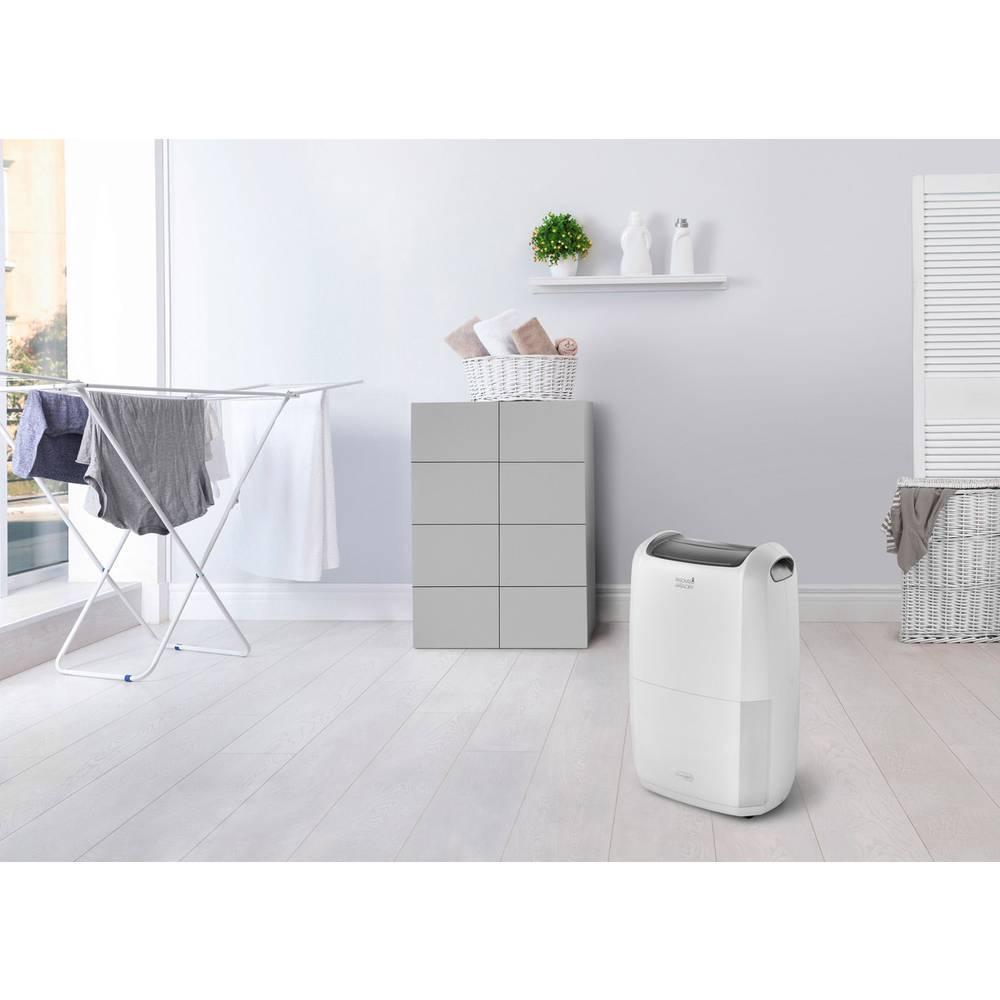 DeLonghi DDSX225 Dehumidifier 100 m³ 0.83 l/h White