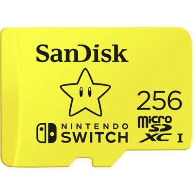Image of SanDisk Extreme Nintendo Switch™ microSDXC card 256 GB UHS-I, UHS-Class 3 Compatible with Nintendo Switch™