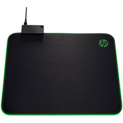 Image of HP Pavilion Gaming 400 Gaming mouse pad Black, RGB (W x H x D) 355 x 1.3 x 310 mm