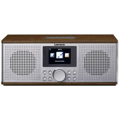 Lenco DIR-170 Internet desk radio DAB+, FM AUX, Bluetooth, USB, Internet radio Walnut