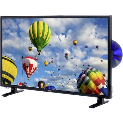 Image of Xoro HTC 2448 LED TV 60 cm 24 EEC A (A++ - E) DVB-T2, DVB-C, DVB-S, HD ready, DVD-Player, CI+ Black