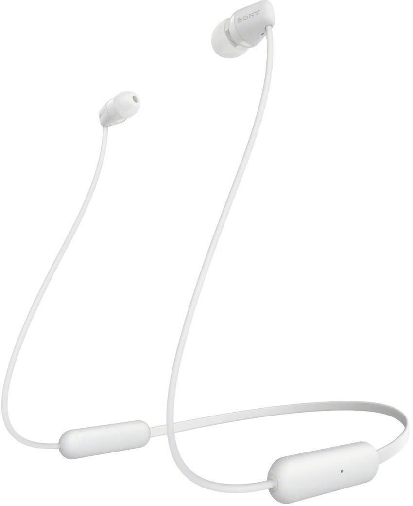 Sony Wi C200 Bluetooth 1075101 In Ear Headphones In Ear Headset Volume Control White Conrad Com