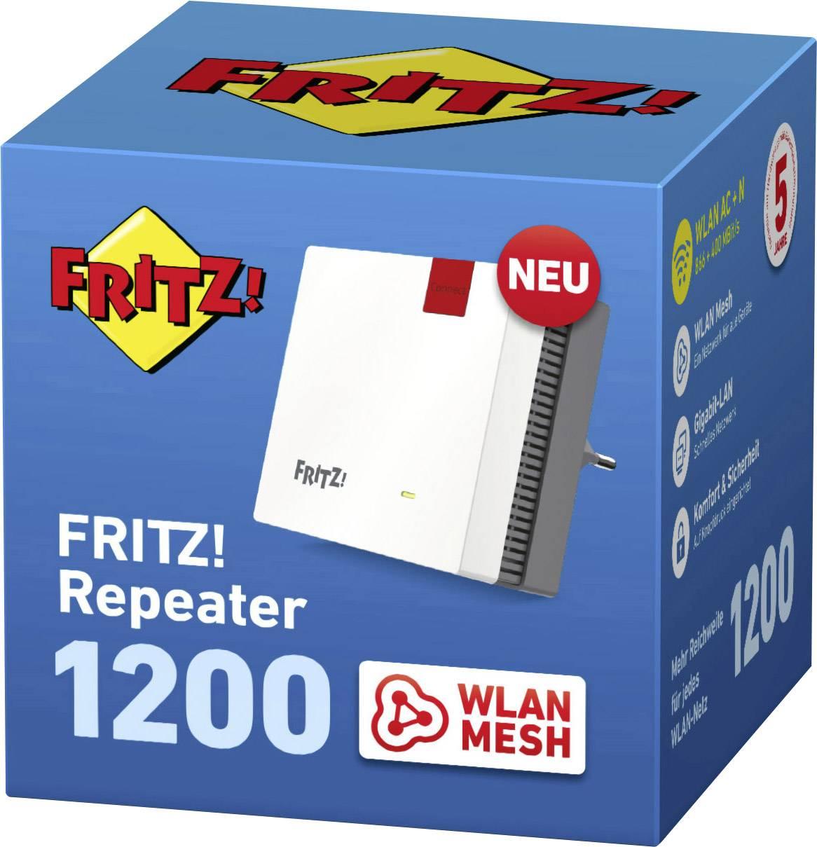 AVM FRITZRepeater 200 Wi Fi repeater 20.20 GHz, 20 GHz   Conrad.com