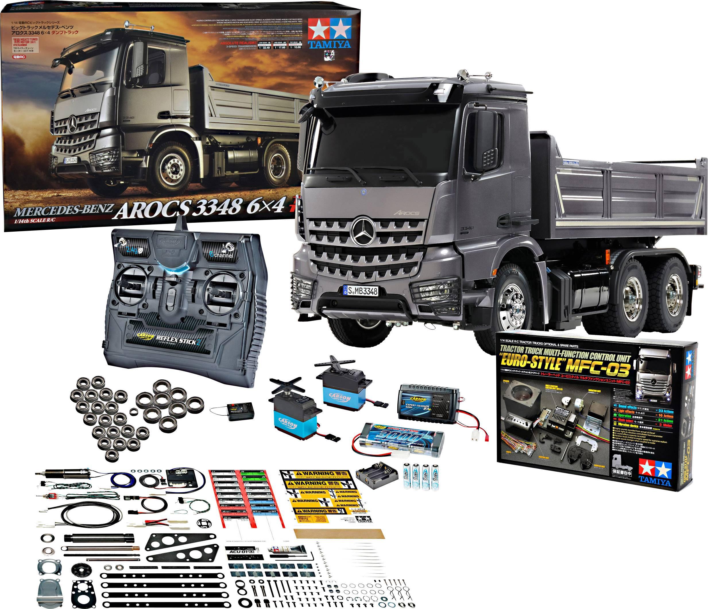 Tamiya 330056357 1 14 Electric Rc Model Truck Economy Set Exclusive Set Conrad Com