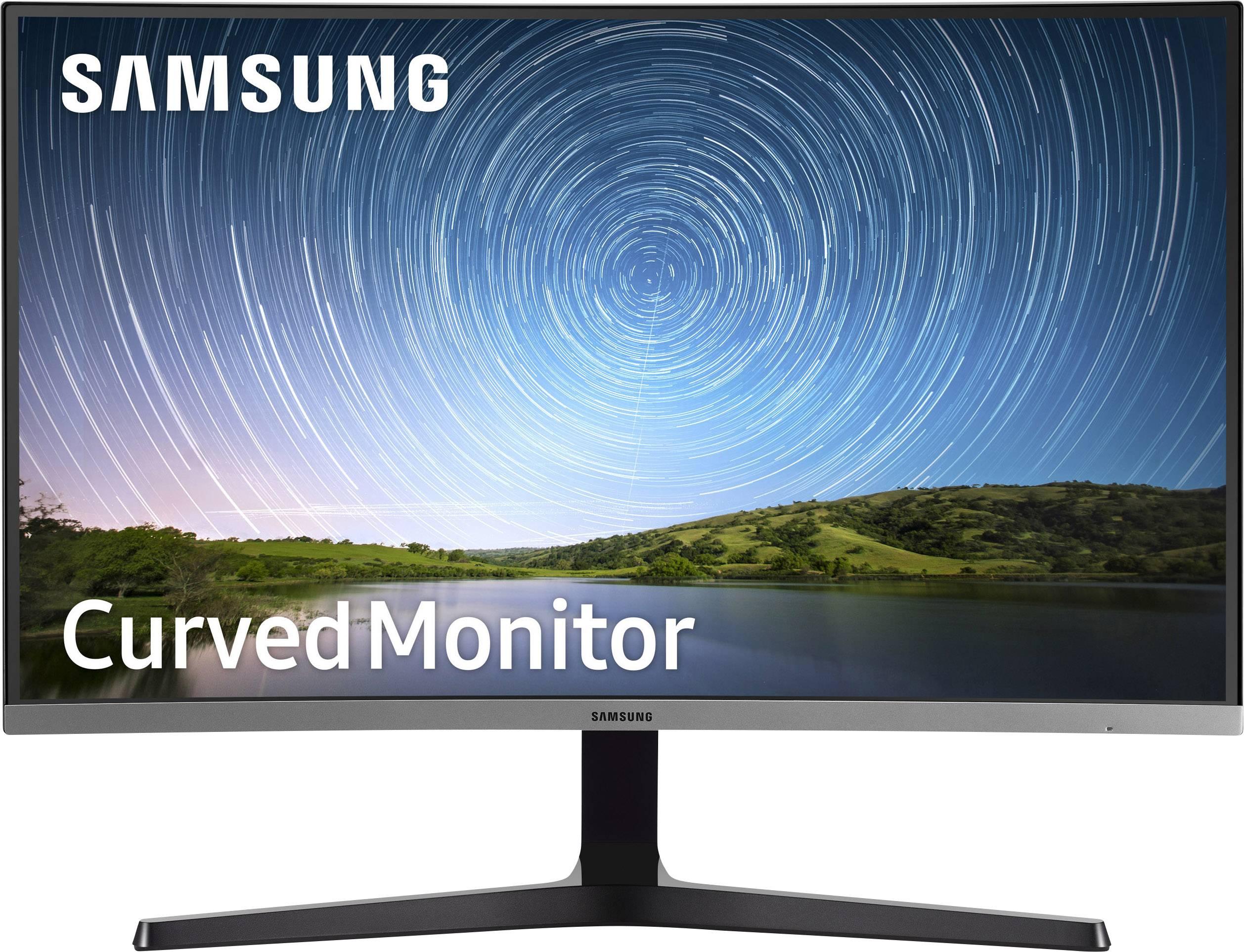 Samsung C27R504FHU Gaming screen 68.6 cm (27 inch) 1920 x 1080 p Full HD 4  ms HDMI™, VGA, Headphone jack (3.5 mm) VA LE