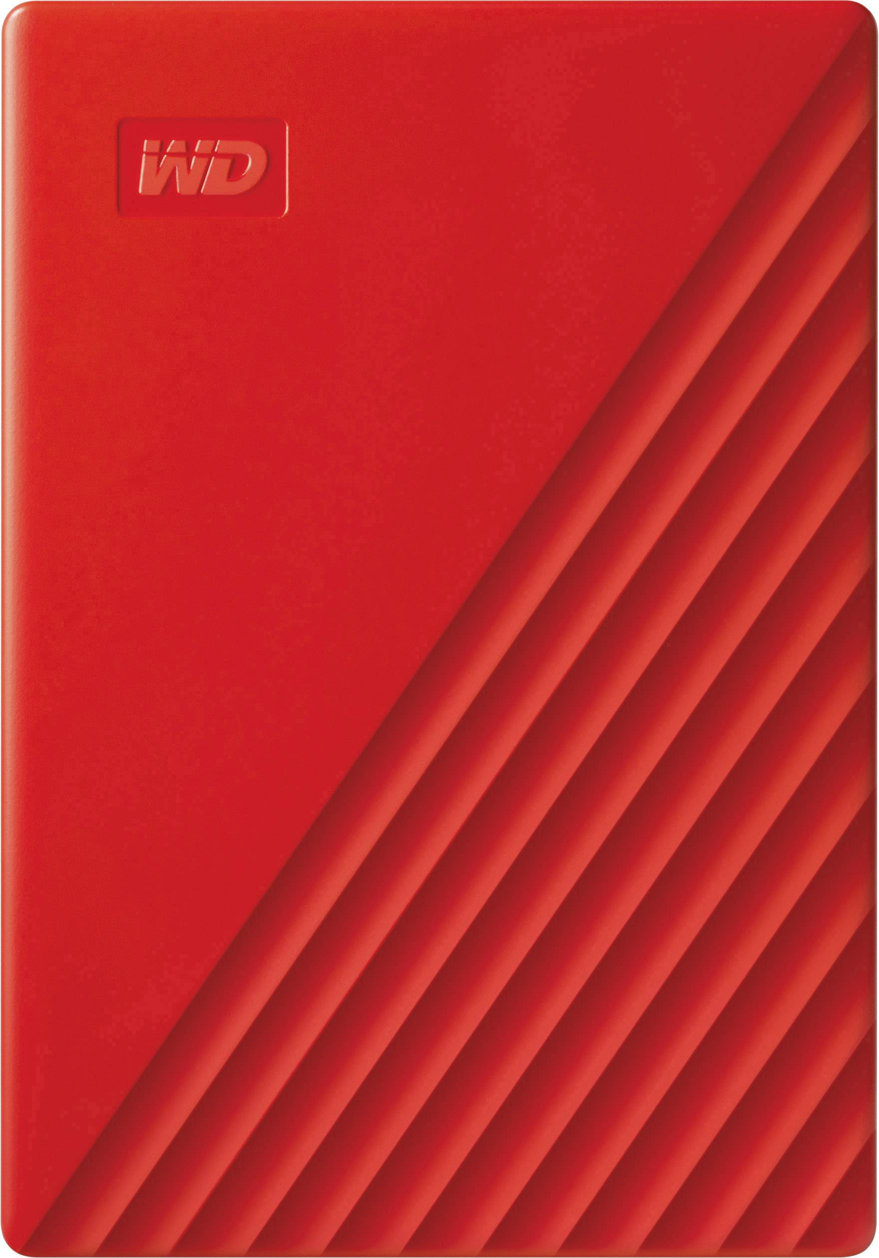 "New 4TB 2.5/"" WD My Passport  Portable External Hard Drive USB 3.0 Red"