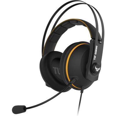 Image of Asus TUF H7 Core Gaming headset 3.5 mm jack Corded Over-the-ear Black, Yellow