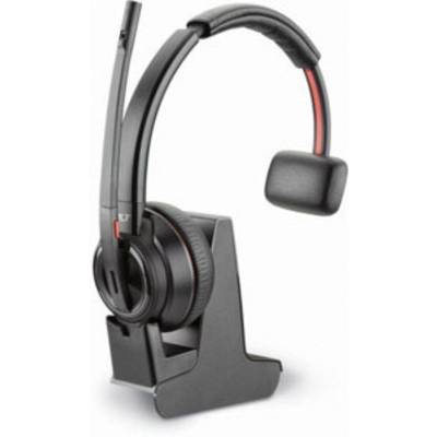 Image of Plantronics DECT Headset Savi W8210-M USB monaural Phone headset Bluetooth Cordless, Mono On-ear Black
