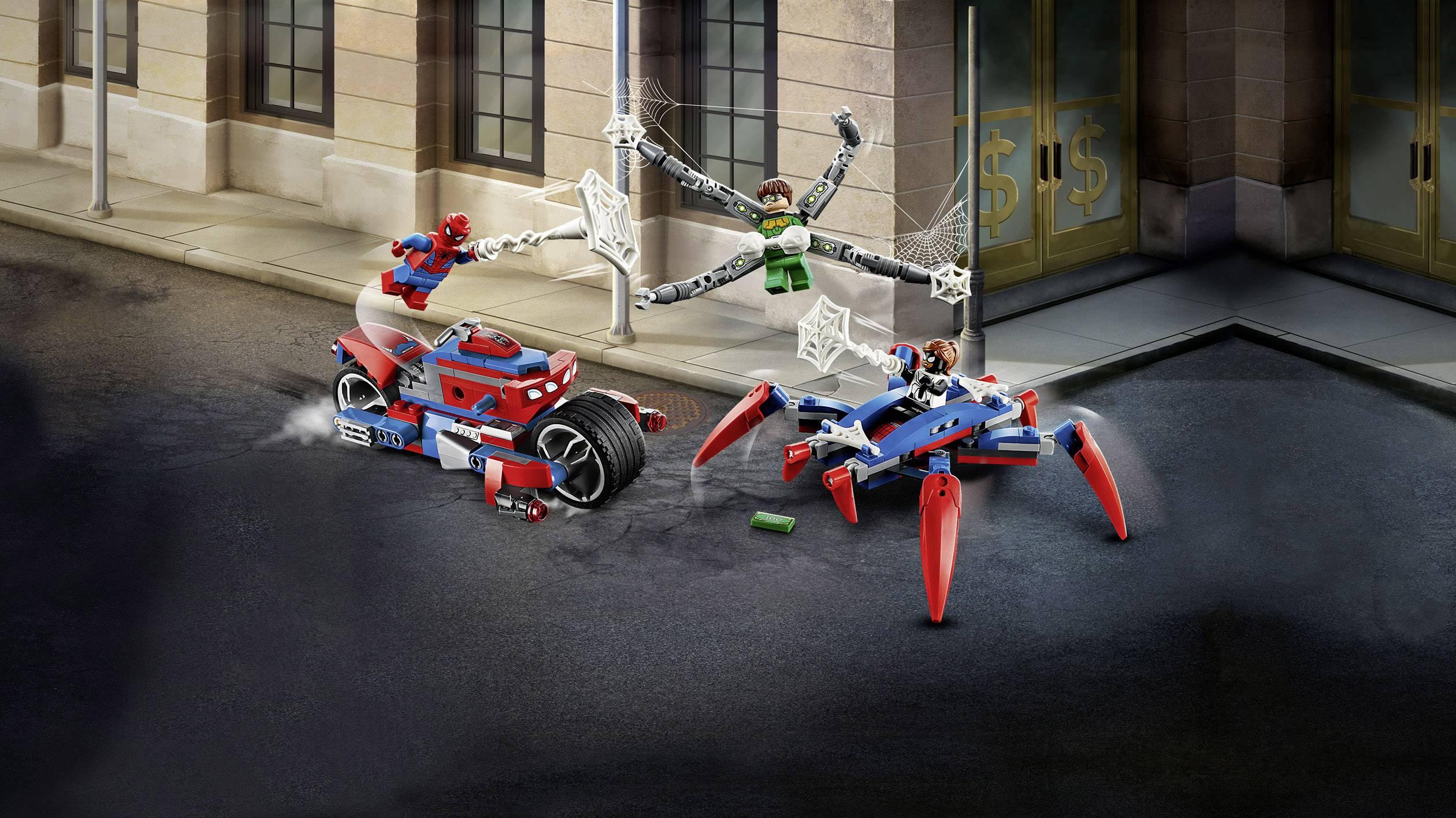 Ans 76148 LEGO Marvel Super-héros Spider-Man Vs Doc Ock 234 PIECES 6