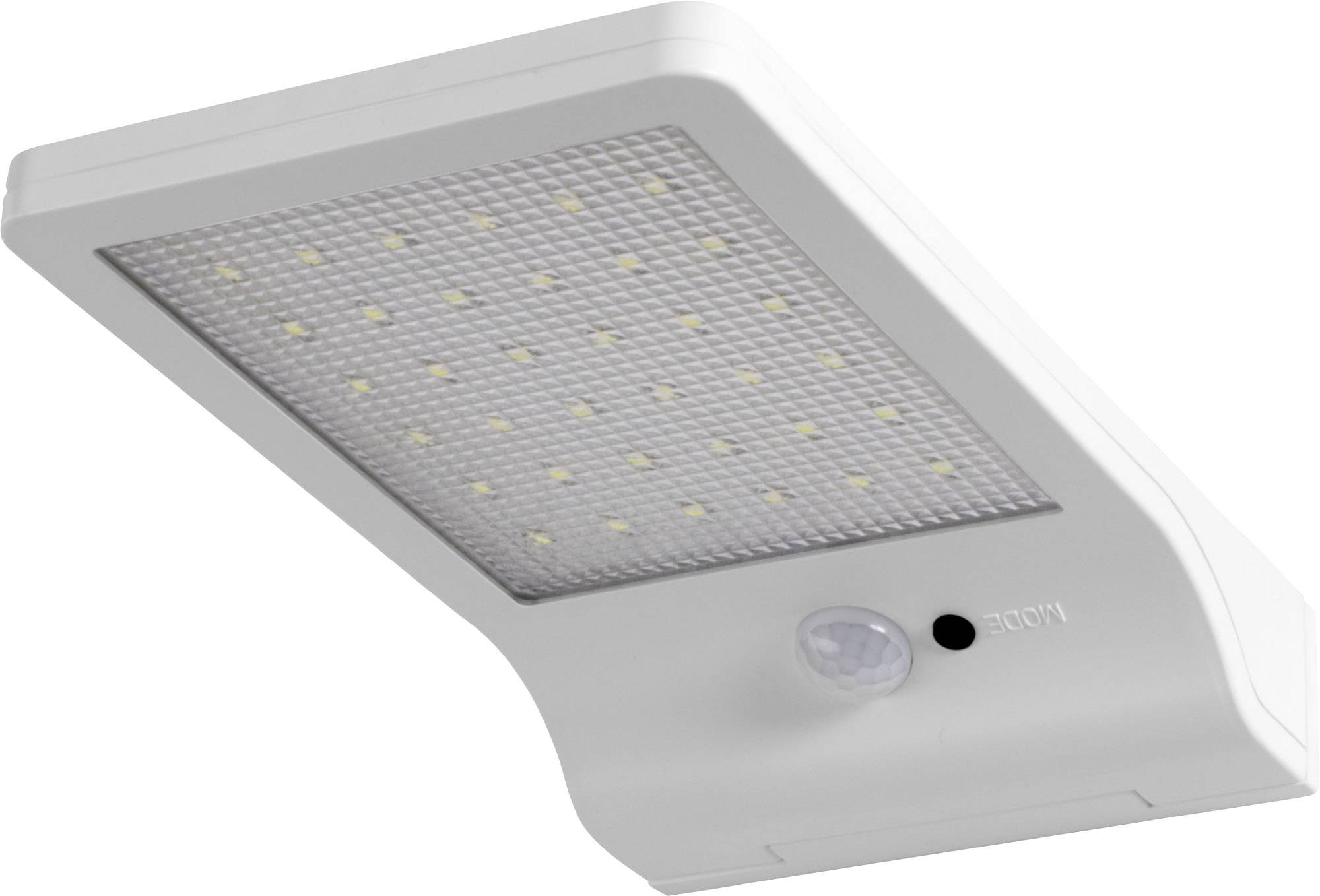 Ledvance Doorled Solar L 4058075267909 Solar Outdoor Wall Light Motion Detector White Conrad Com