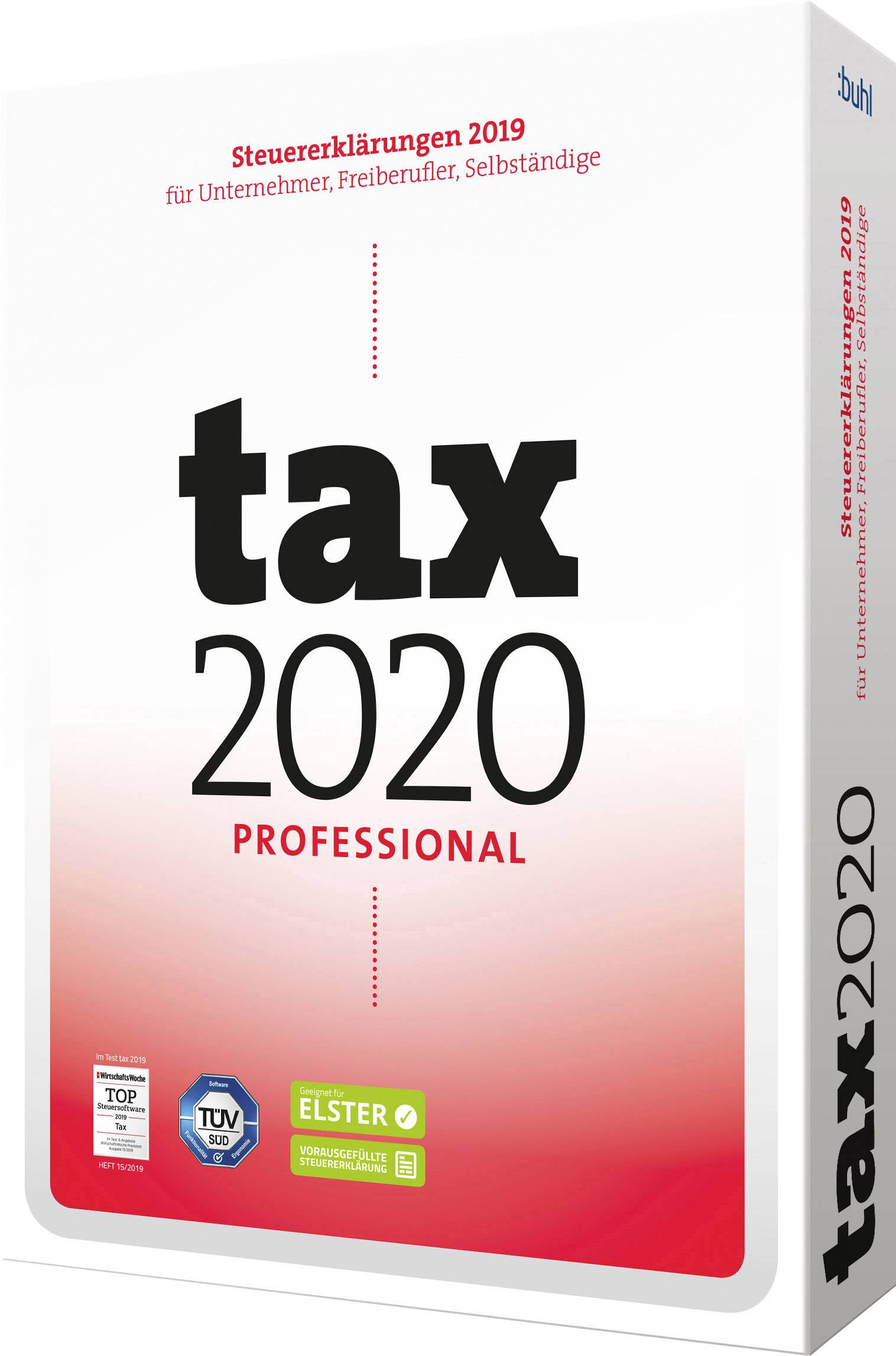 Wiso Tax 2020 Professional Full Version 1 License Windows