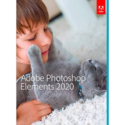 Image of Adobe Photoshop Elements 2020 Upgrade, 1 licence Windows, Mac OS Illustrator