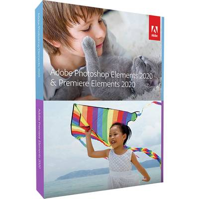 Image of Adobe Premiere Elements Upgrade, 1 licence Windows, Mac OS Illustrator