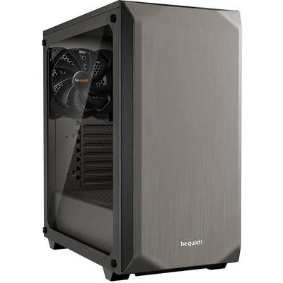 Image of be quiet! Pure Base 500 Midi Tower Case - Grey Tempered Glass