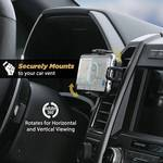 Wireless charger VentMount