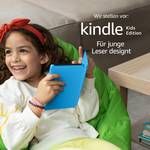 The new Kindle Kids Edition - with access to thousands of books, blue sleeve