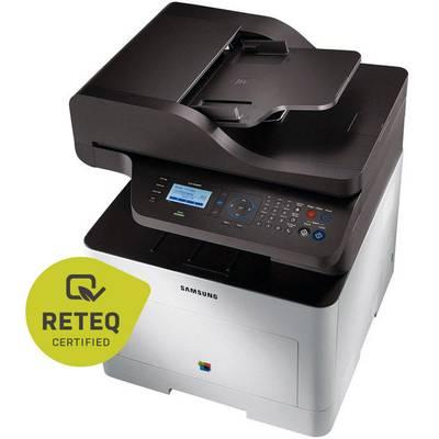 Samsung CLX-6260FR Colour laser multifunction printer Refurbished (good) A4 Printer, scanner, copier, fax Duplex, ADF, USB, LAN