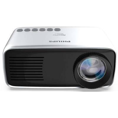 Image of Philips Projector Neopix Start+ LCD ANSI lumen: 650 lm 1920 x 1080 HDTV 800 : 1 White, Black